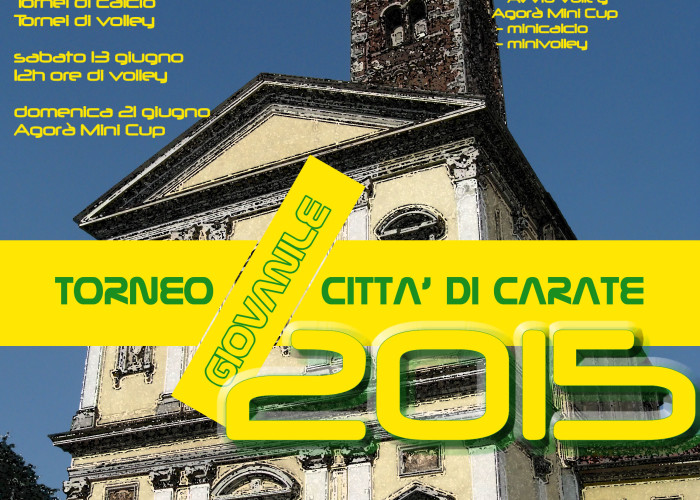 Torneo Giovanile Città di Carate 2015