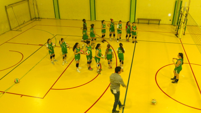 Prima fascia volley